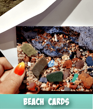 thumbnail image link to site page on  making a beach card