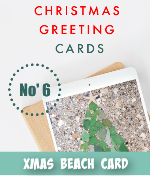 thumbnail image link to site page on beach christmas greeting cards