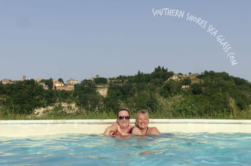 cath and maz in italy 2014