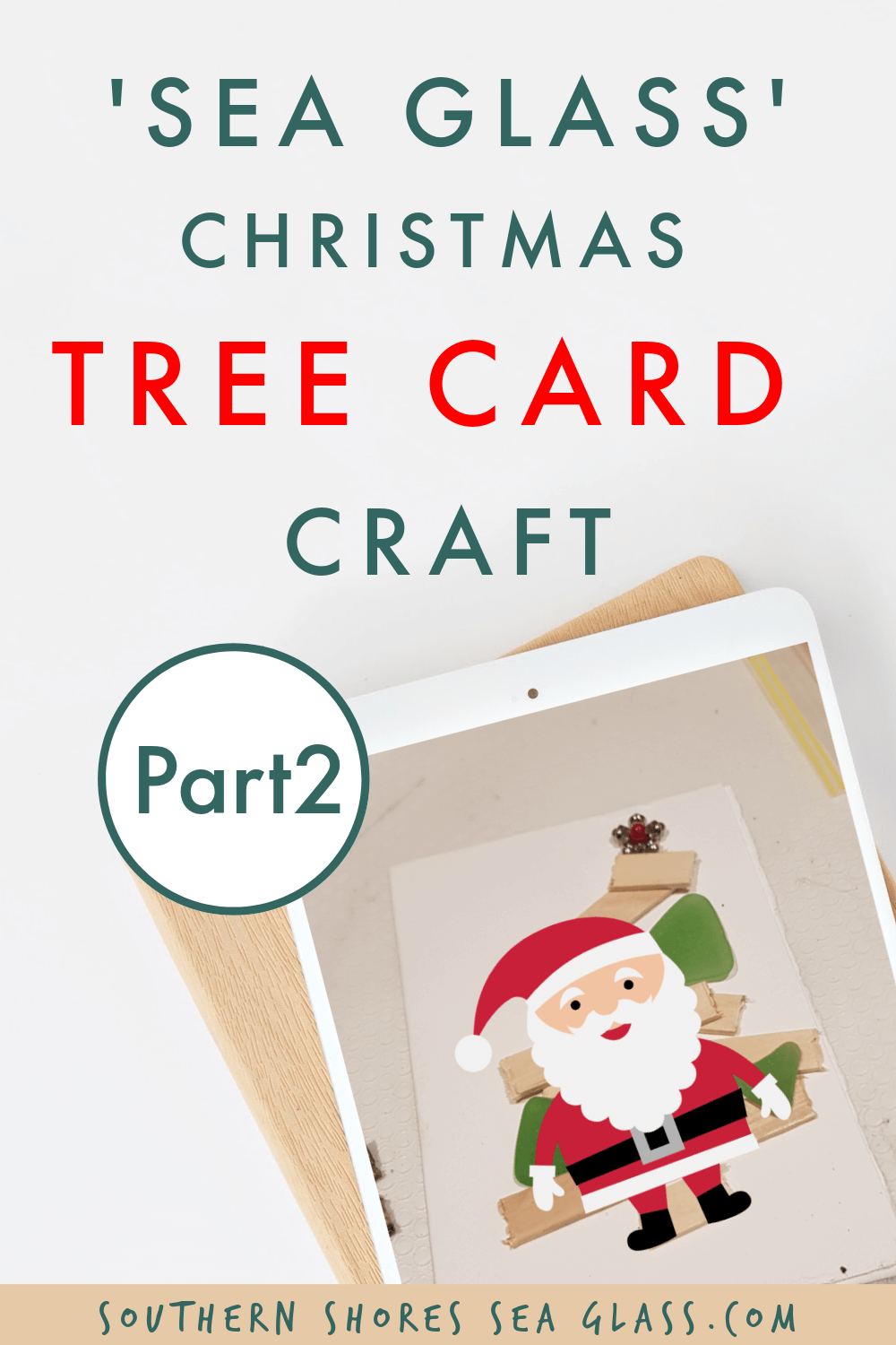 christmas card christmas tree craft pinterest pin