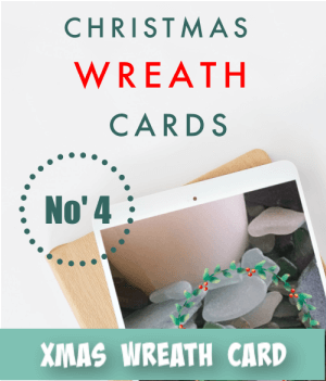 thumbnail image link to site page on christmas wreath card craft ideas