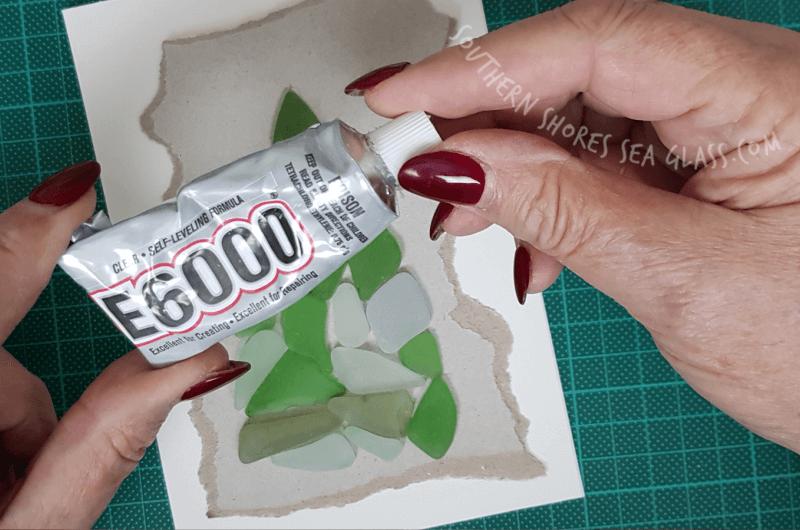 e6000 glue for gluing sea glass