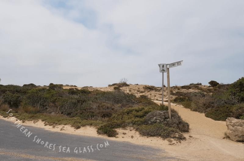 bike track in robe