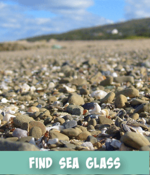 thumbnail image links to site page on how to find sea glass