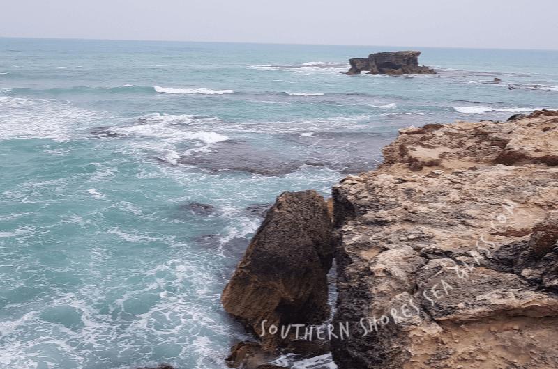 Robe's ocean rock platform