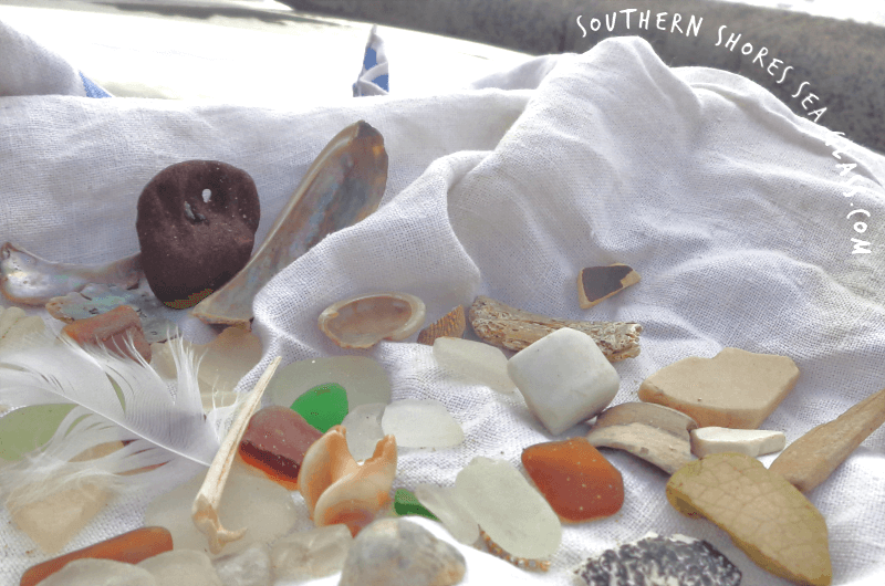 sea glass and other collectables
