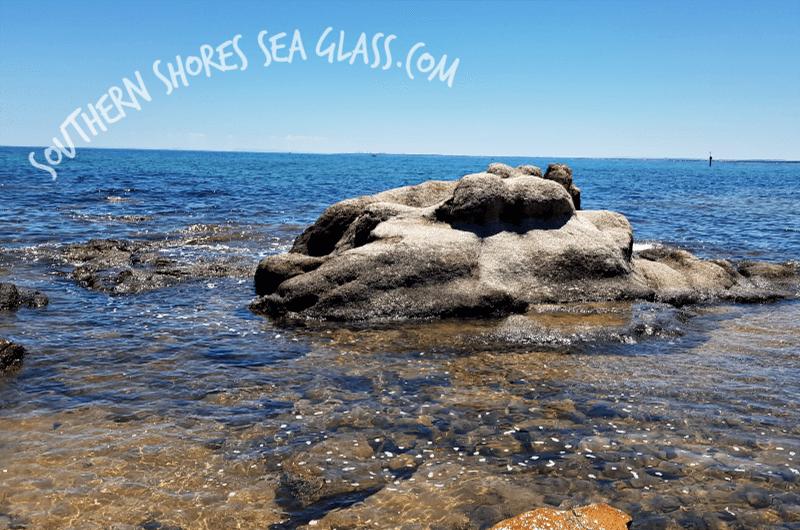 seal rock at Frankston Beach