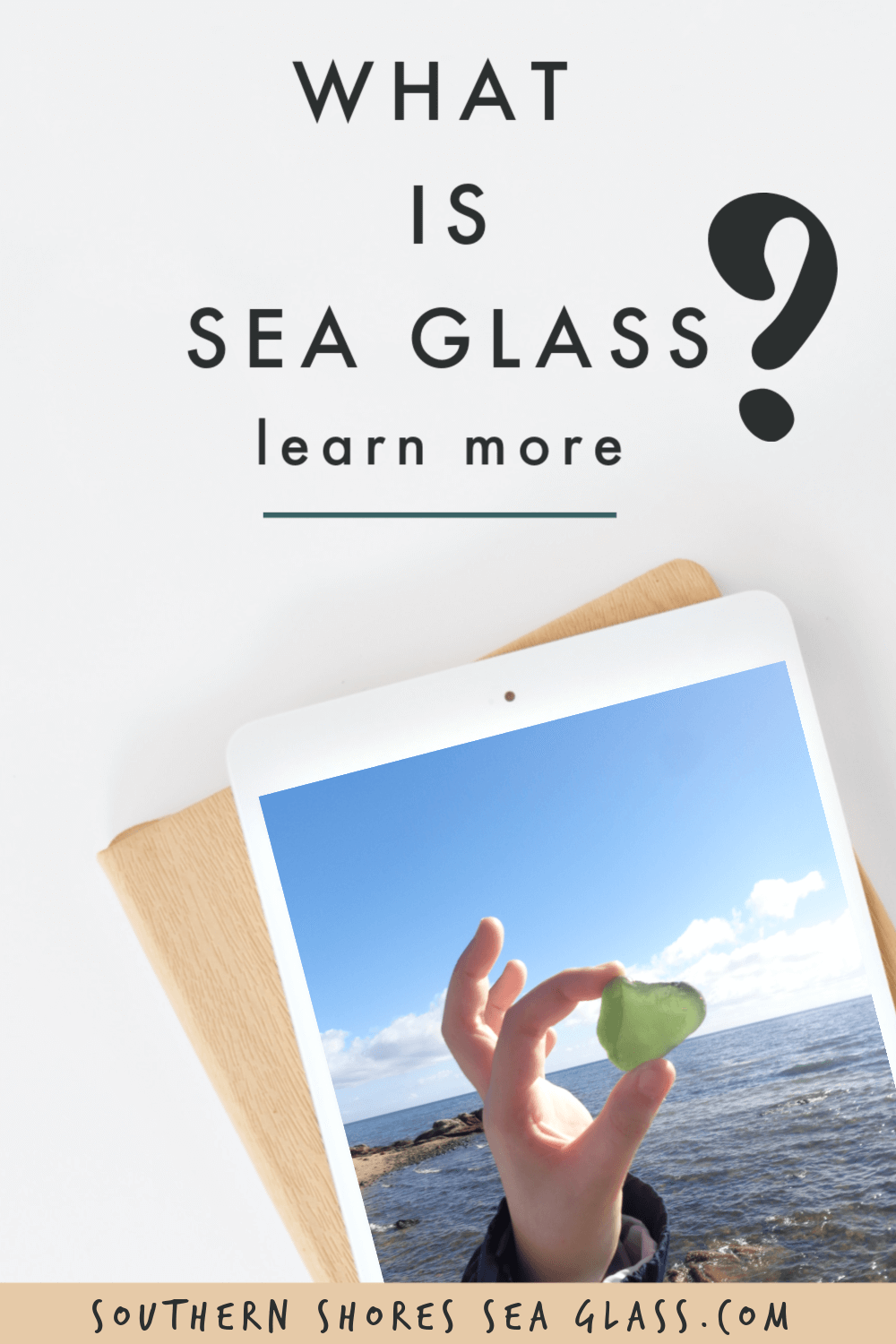 what is sea glass pinterest pin