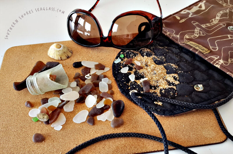 collecting sea glass